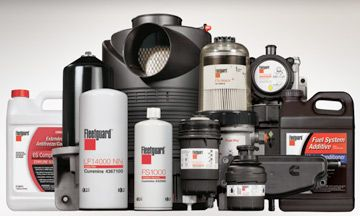 Filtry olejowe, filtry Fleetguard, oleje Shell