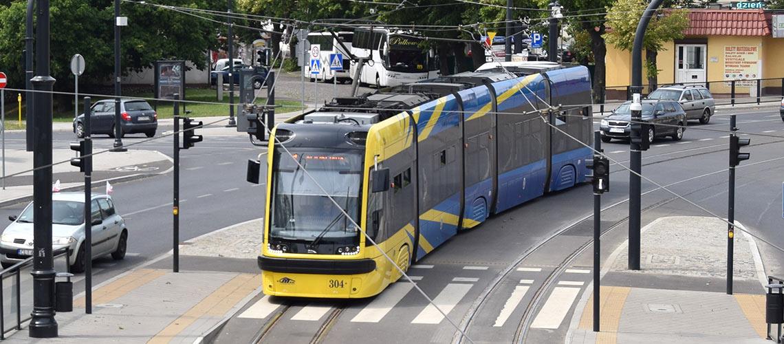Podzespoły zamienne do tramwajów. Szeroka oferta części różnych marek